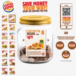 Burger King July Coupon --- Flash to Redeem
