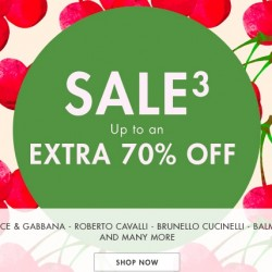 Yoox Up to an extra 70% off