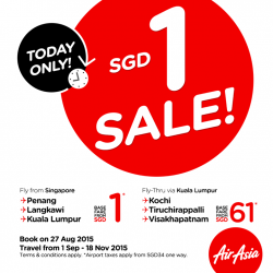 AirAsia: 1 Singapore dollar goes a long way in Malaysia