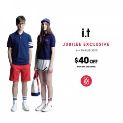 i.T Labels: Jubilee exclusive promotion @ $40 OFF