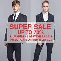 SUIT SELECT: Super sale Up to 70% OFF