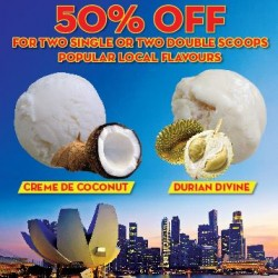 New Zealand Natural: Durian and Coconut @offers 50% OFF