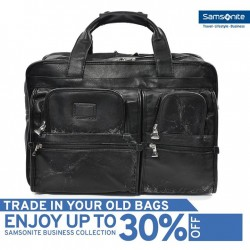 Samsonite: 30% Off Samsonite Business Bag --- Trade in with Old Bags