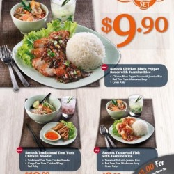 ThaiExpress: Sanook Set Value Meals with Soup