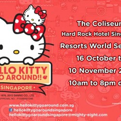 Sistic: Hello Kitty Go Around!! In Singapore from 16 Oct to 10 Nov 2015
