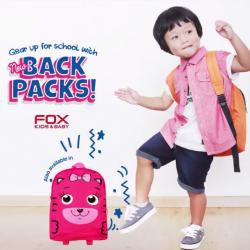 Fox Fashion: New Back Packs