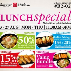 Saboten: Lunch Special