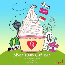 Jem: SPAM YOUR CUP DAY --- $5 Per Cup