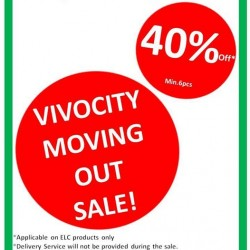 Early Learning Centre: 40% OFF Minimum 6pcs --- Vivocity Moving Out Sale