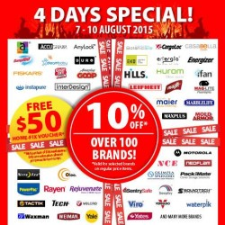 HomeFix: special deals @10% Off, over 100 Brands! Plus get free $50 home-fix voucher