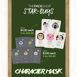 THEFACESHOP: Star Buys Character Mask