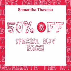 Samantha Thavasa: Special Buy bags across@ Get 50% OFF