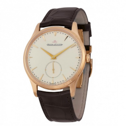 Jomashop: Master Grande Ultra Thin Beige Dial Dark Brown Leather Men's Watch $9495