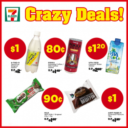 7-Eleven: Crazy Deals Starting From Only 80 Cents