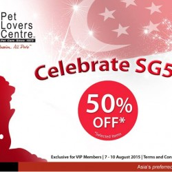 Pet Lovers Centre: Get 50% off on selected items