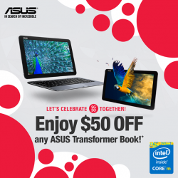ASUS: for 2-in-1 Transformer Book series!