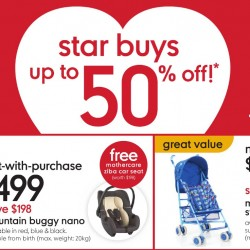 Mothercare: Up to 50% off Star Buys