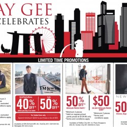 Jay Gee: SG50 limited time promotions