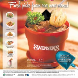 Swensens: New Menu Additions and Card Promotions for ANZ and OCBC