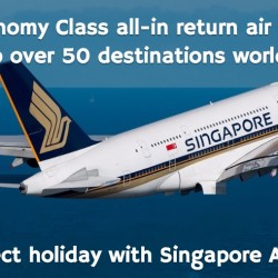 Singapore Airlines: Promotional Economy Fares