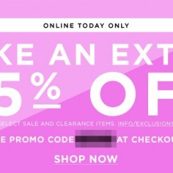 bloomingdales: extra 25% off coupon code
