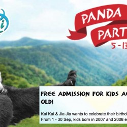 River Safari: Free Admission for Kids Born in 2007 & 2008