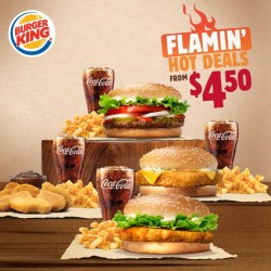 Burger King: Cheesy Fries Value Meals from $4.50
