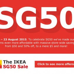 IKEA: exclusive promotional Sale for members --- 50% OFF or more