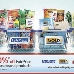FairPrice: 10% off FairPrice HouseBrand Products