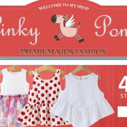 Pinky Pony Kids via Rakuten: 40% OFF Coupon + Additional 5% OFF with OCBC Cards