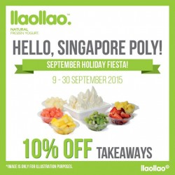 llaollao : Natural Frozen Yogurt @ 10% OFF