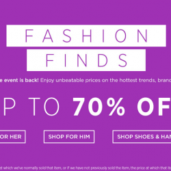 Saks OFF 5th: Take up to 70% OFF on hottest trends, brands and style.