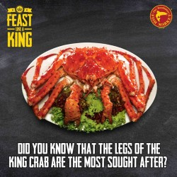 The Manhattan FISH MARKET: King Crab for just $39.95
