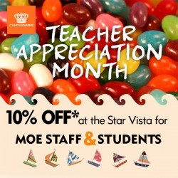 Candy Empire: Whole Month Appreciation for Teachers @ 10% OFF