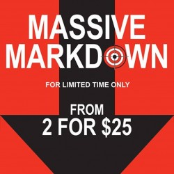 Bata: Massive Markdown Sale @2 for $25