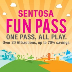 SISTIC: Up to 70% savings of Sentosa Fun Pass