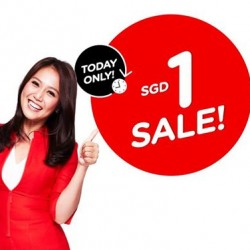 AirAsia: Flash Sale for $1 for Today only