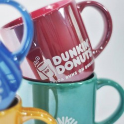 Dunkin' Donuts: Specially-designed Ceramic Lustre Mugs ($18 each)
