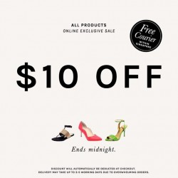 Heatwave Shoes: Take $10 OFF All Products