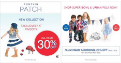 Pumpkin Patch: New collections @30% OFF storewide Plus, Additional 20% OFF min. 5 pcs