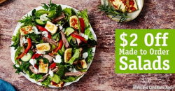 SumoSalad: $2 OFF Fresh Made to Order Salads