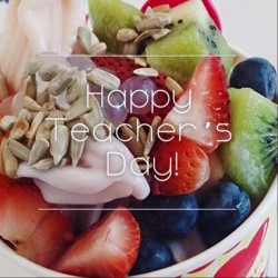 Sogurt: Teacher's Day Sogurt Specials