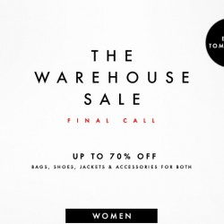 Forzieri: The WareHouse Sale Final Call @Save Up to 70% OFF