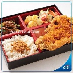 Citibank: 1-for1 at Eat Taipei