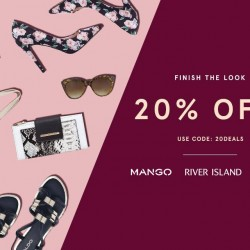 Zalora: Complete your look with 20% OFF