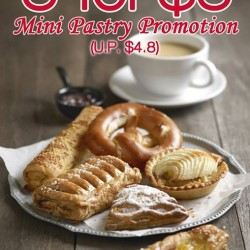 Swiss Bake Pte Ltd: Mini Pastry Promotion @3 for $3 (U.P 4.8)