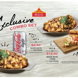 Pezzo Pizza: Pezzo Scrumptious Smoked Beef Bolognese Pasta @Exclusive Combo Set