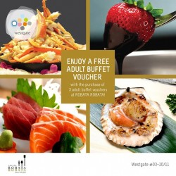 Westgate: Eat All You Can @Free adult buffet voucher