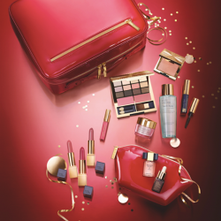 Estee Lauder: Repair Serum, Resilience Lift Night Creme in a deluxe gift size