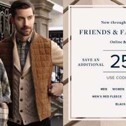 "Brooks brothers: Extra 25% OFF using code ""FRIENDS"""